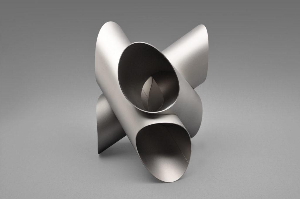Rob Zweerman, AxisV3_Inox, beeldhouwen, Eindhoven, lessen, Ruimte in Beeld,