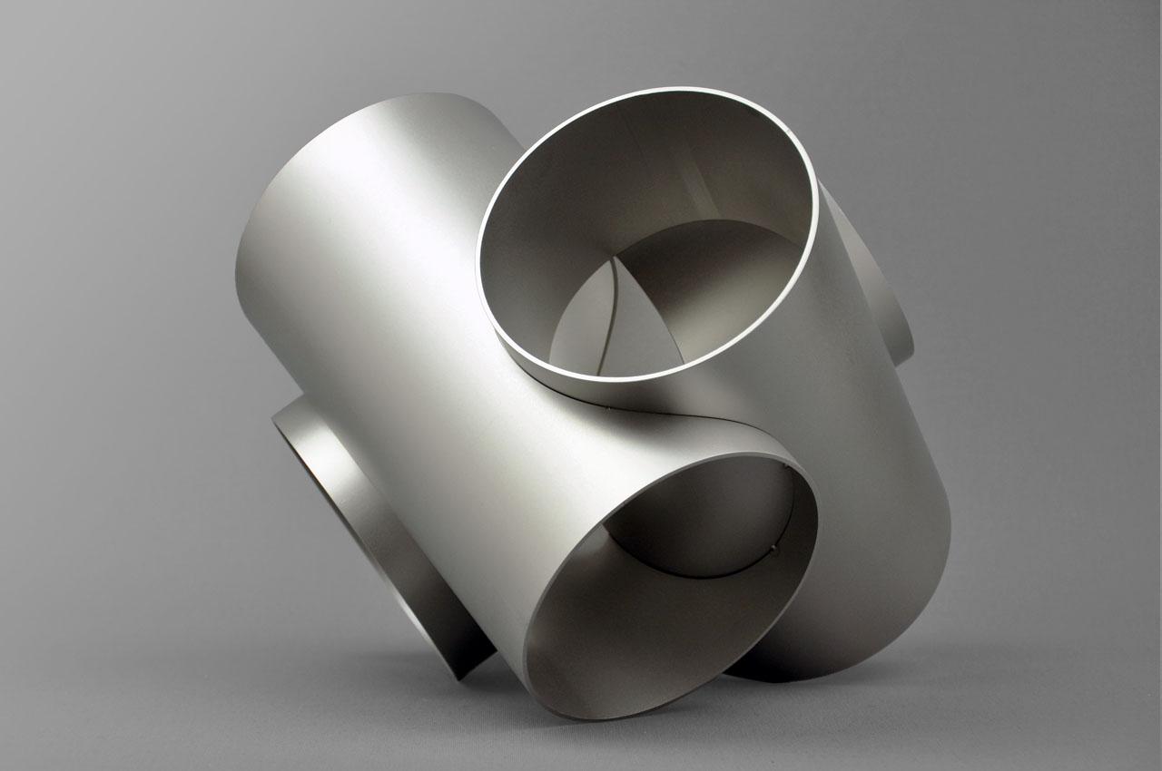 Rob Zweerman, Axis Inox 1, Beeldhouwen, Eindhoven, 2018, Ruimte in beeld, sculpture