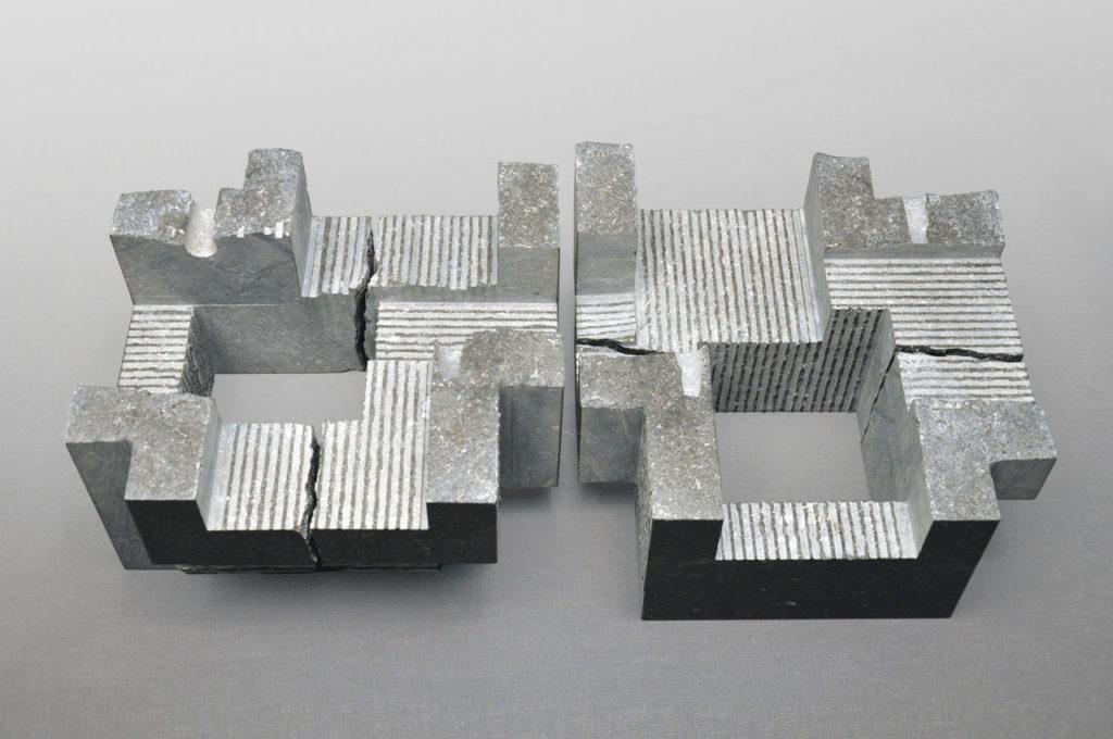 De stenen kamer, Rob Zweerman, beeldhouwen, Eindhoven, lessen, Ruimte in Beeld, sculpture, proces,