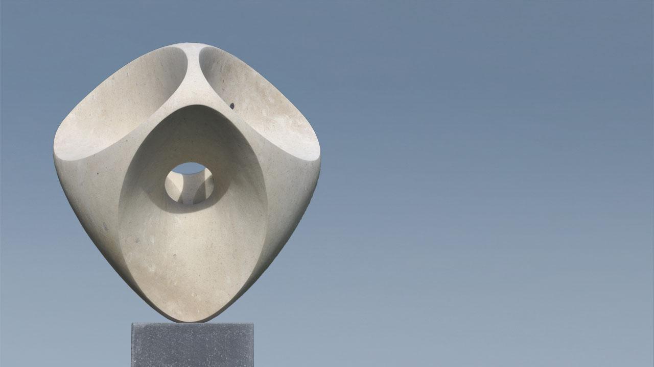 Rob Zweerman, Open Ellips, beeldhouwen, Eindhoven, Ruimte in Beeld
