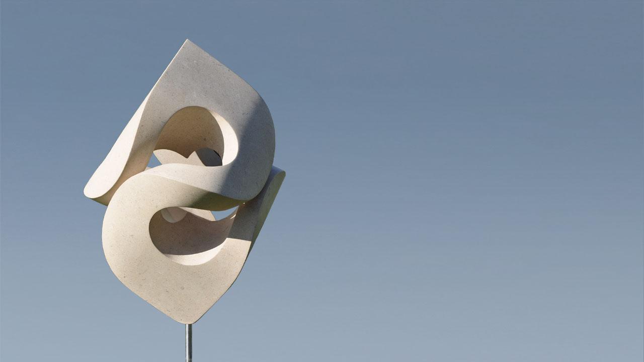 Rob Zweerman, Large Swirl, beeldhouwen, Eindhoven, Ruimte in Beeld