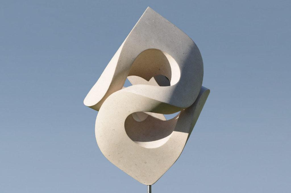 Rob Zweerman, Large Swirles, Beeldhouwen, Eindhoven, 2018, Ruimte in beeld