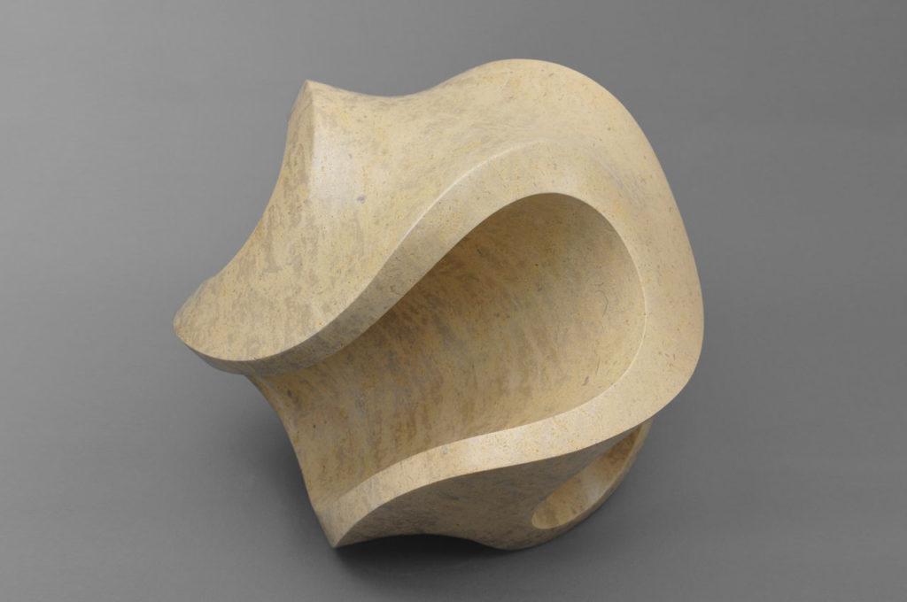 Rob Zweerman, Pirouette, beeldhouwen, Eindhoven, 2019, steen