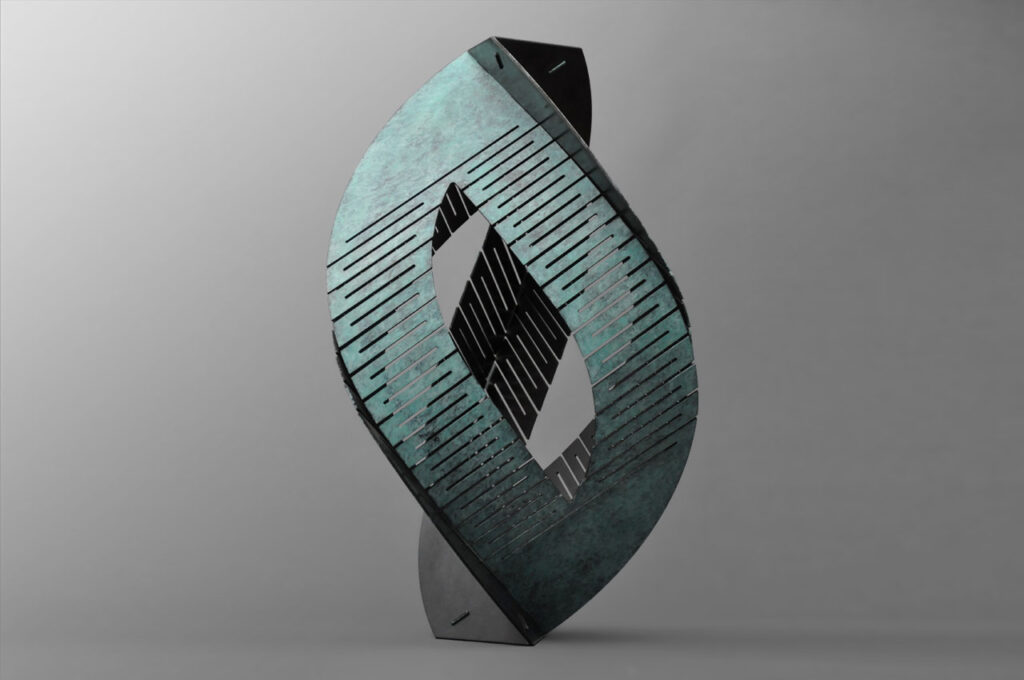Rob Zweerman, Transmission, Sculpture, Eindhoven, 2020, Bronze
